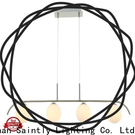 mordern hanging ceiling lights fixtures in different shape for restaurant