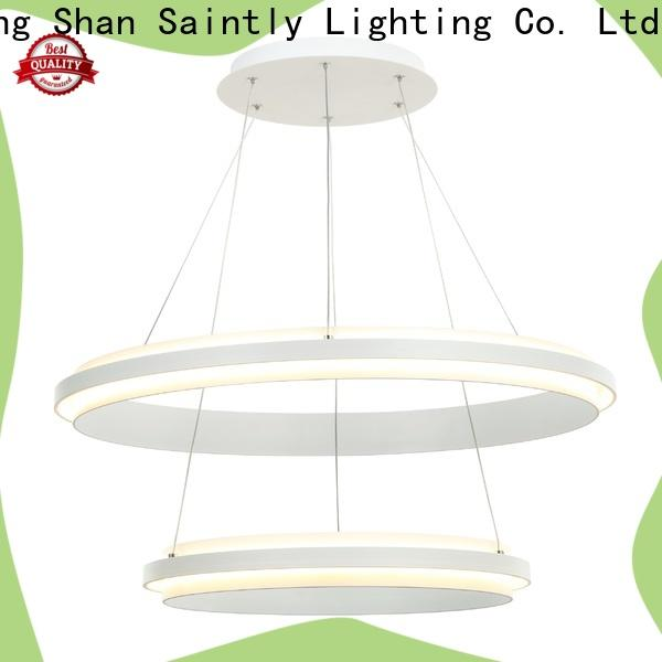 Saintly decorative modern hanging lights in different shape for bathroom
