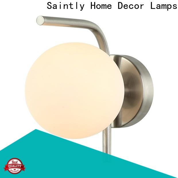 Saintly high-quality hallway wall lights at discount for study room