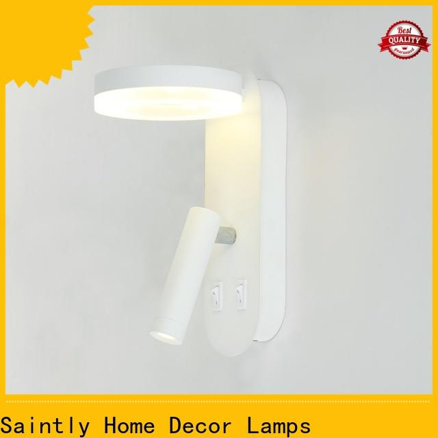 Saintly hot-sale contemporary wall lights vendor for entry