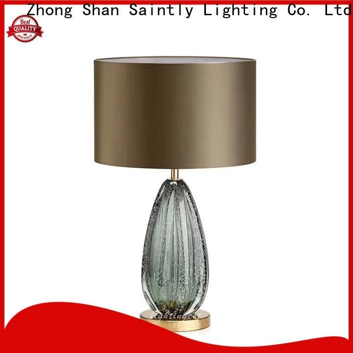 Saintly reading led table lamp bulk production in living room