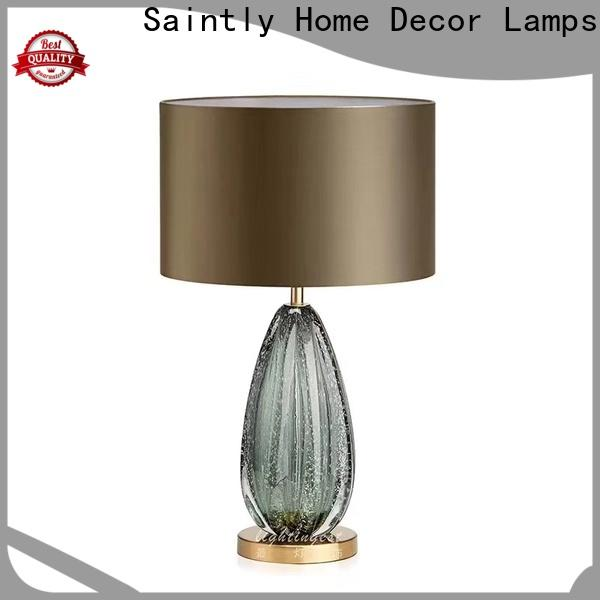 Saintly new-arrival led table lamp bulk production in living room
