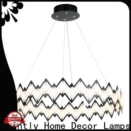 Saintly comtemporary modern pendant light for foyer