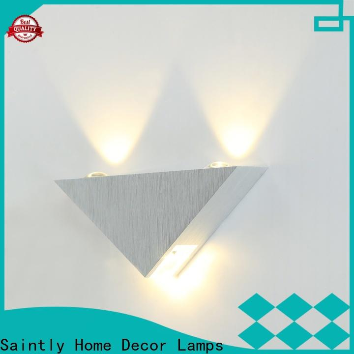 Saintly sconce modern wall lights at discount in college dorm