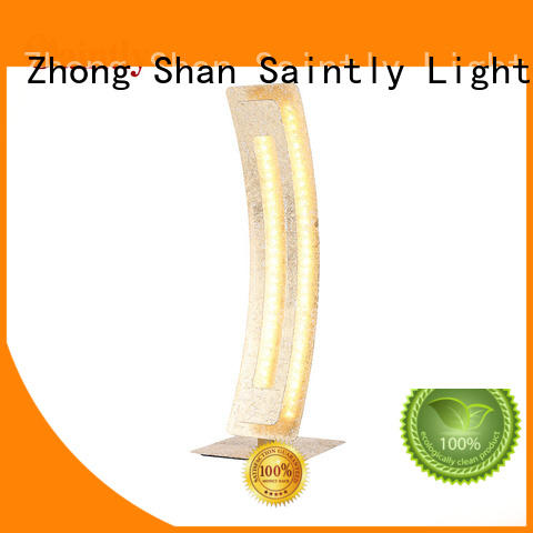 Saintly table led table lamp bulk production in guard house