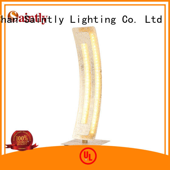 Saintly modern led table lamp in different shape in loft