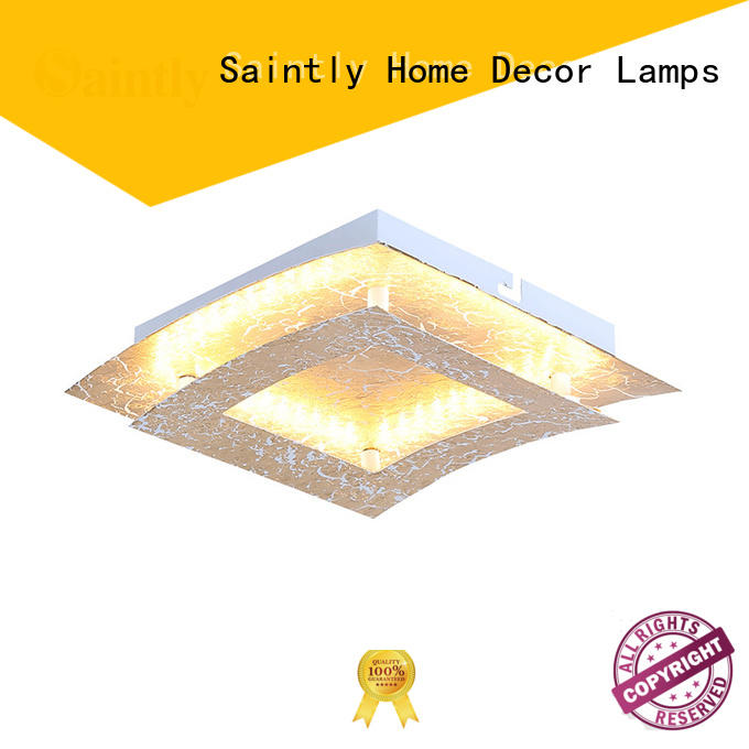 Saintly decorative art deco ceiling light led for shower room