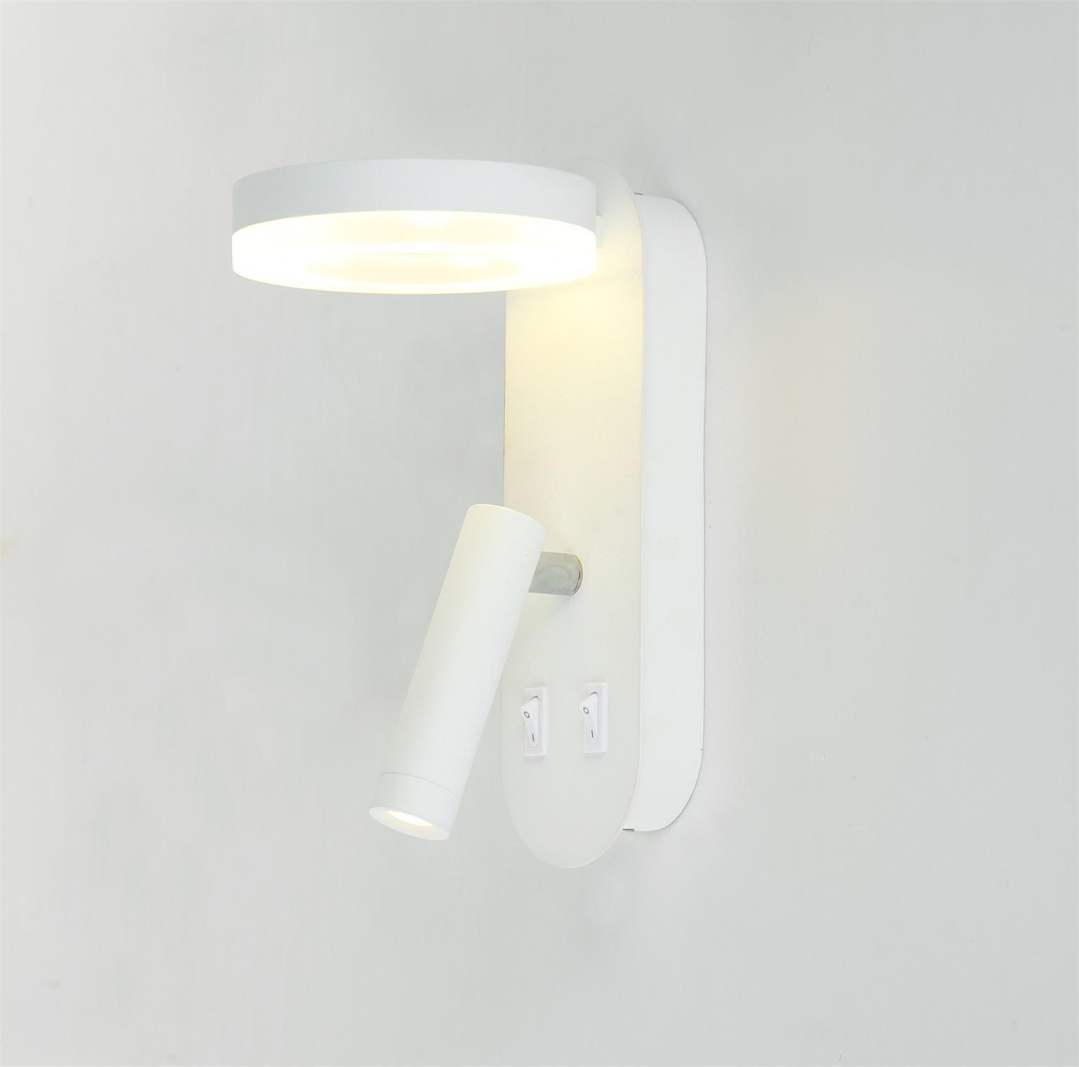 6W+ 3W LED WALL LAMP 63762-2A