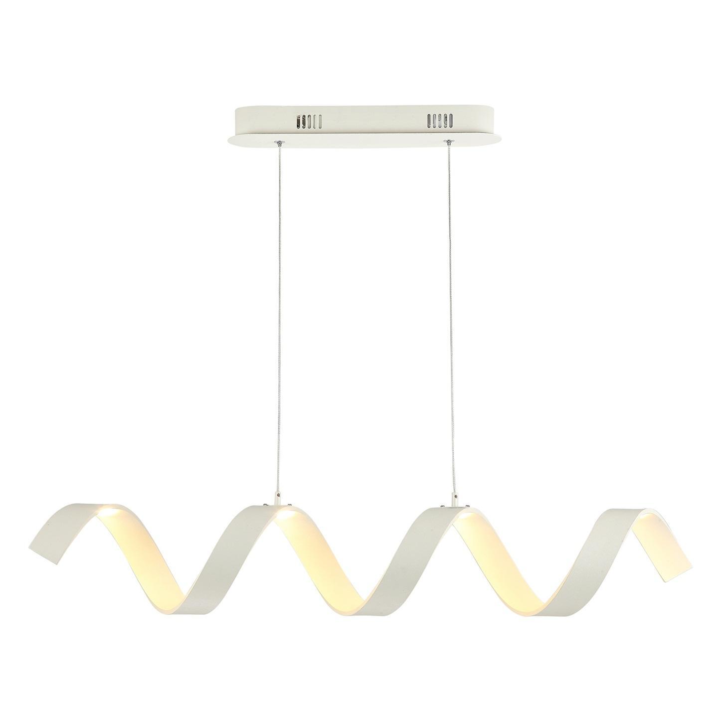 WHITE SPRING PENDANT LAMP